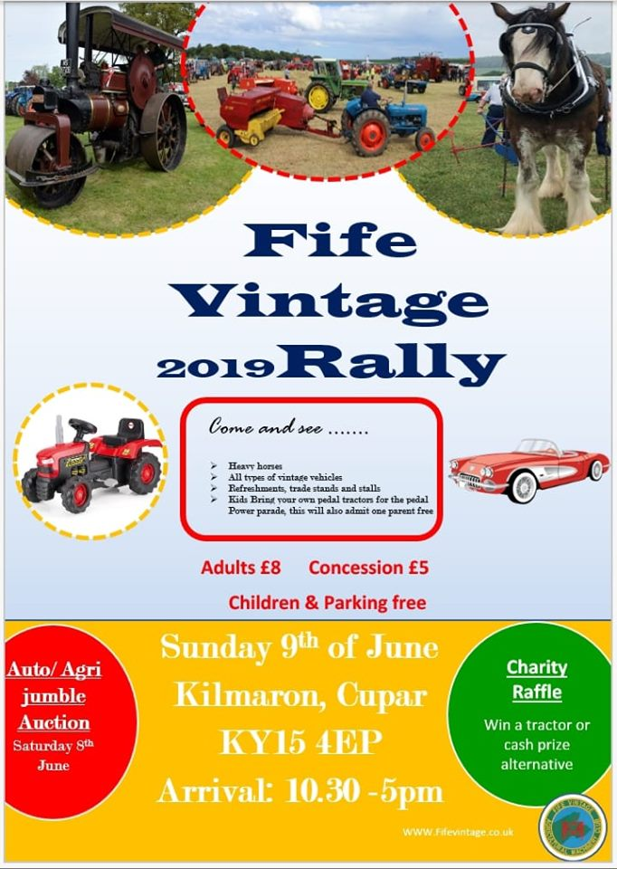 Rally – Fife Vintage Agricultural Machinery Club